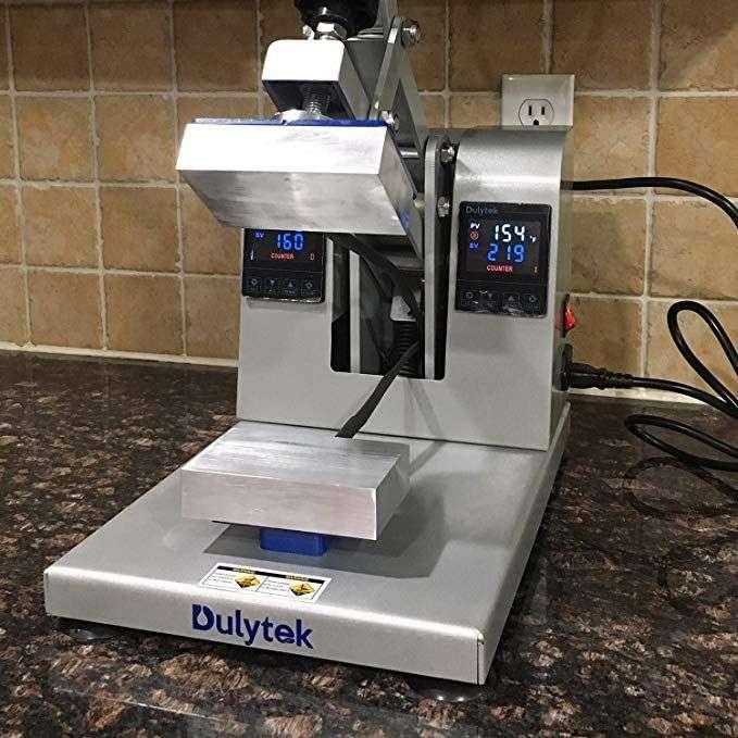 manual rosin press