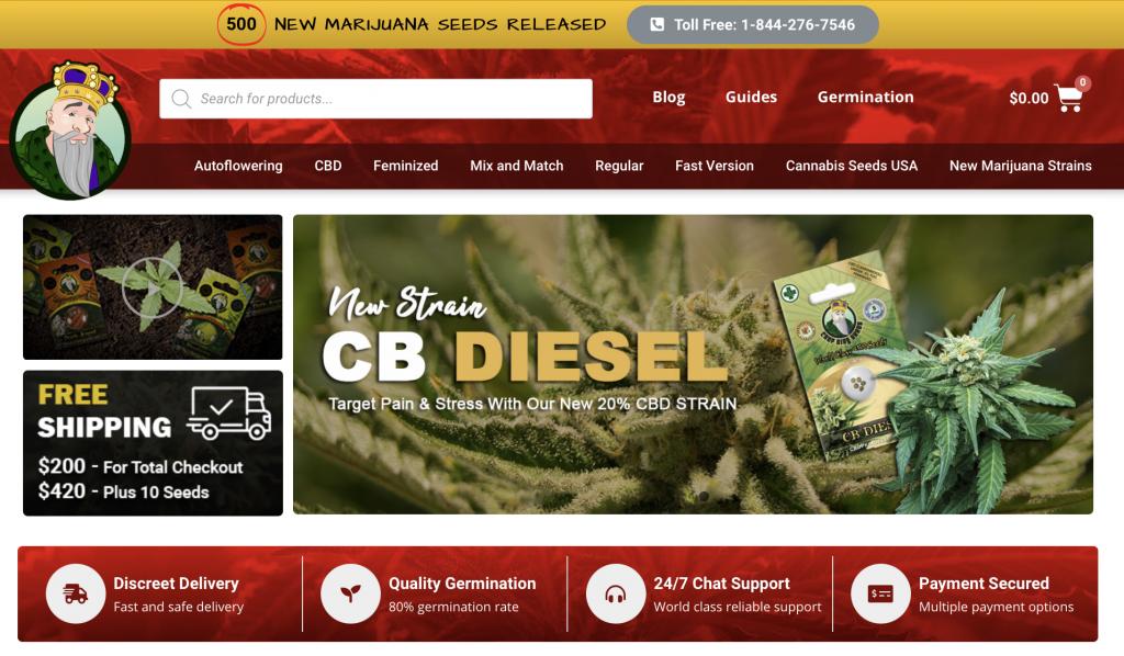 best place to buy marijuana seeds online